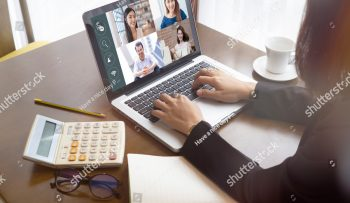 stock-photo--businesswoman-talking-colleagues-about-plan-life-in-video-conference-multiethnic-business-team-1710951718