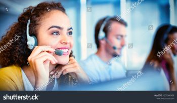 stock-photo-customer-service-executive-working-at-office-1231906489