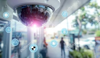 stock-photo-security-cctv-camera-and-icons-at-front-of-supermarket-security-systems-and-protection-from-theft-1064850707